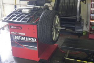 Tire Wheel Balancing